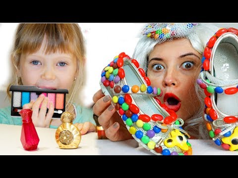 Настя и истории для детей про вредные сладости