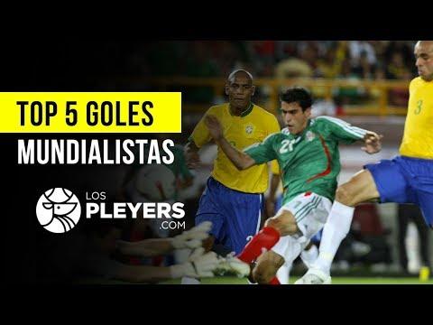 Top 5 goles || México vs Brasil