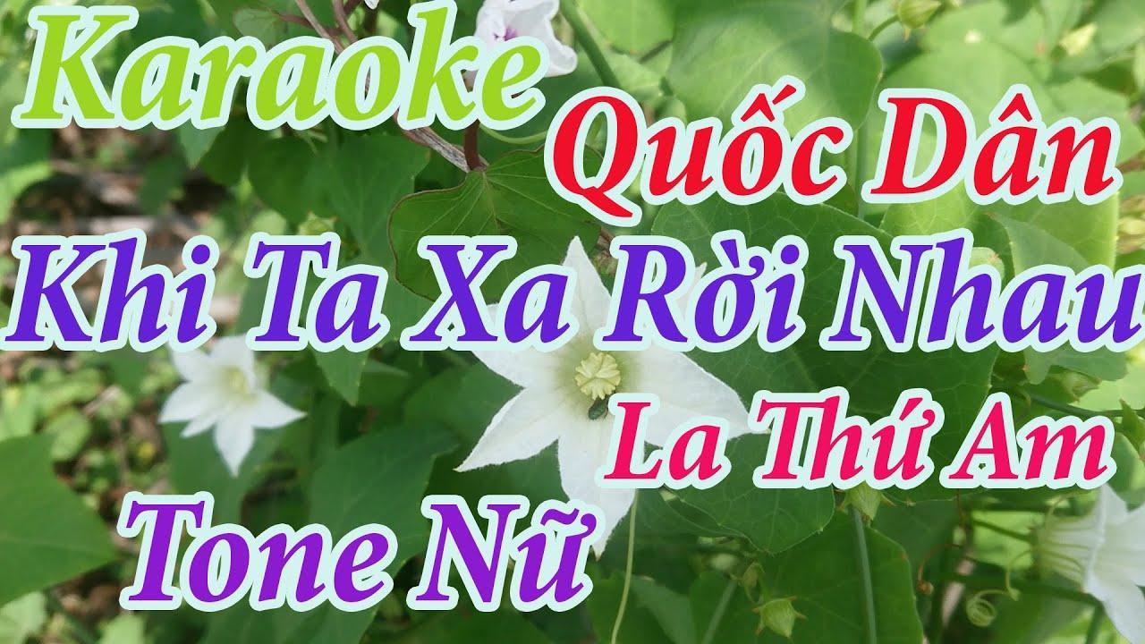 khi ta xa roi nhau Lam Thuy Van - YouTube