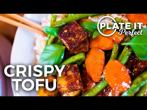 How To Make The Best Crispy Golden Tofu Stir Fry: Plate It Perfect