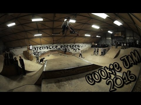 Cookie Jam 2016 @Skatehalle Dresden