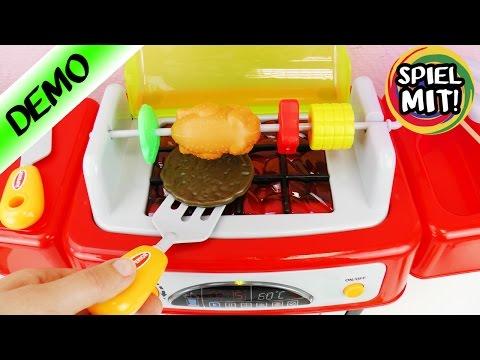 GRILL FÜR KINDER mit Musik, Licht und Soundeffekten | coole Spielküche ZUM BRUTZELN