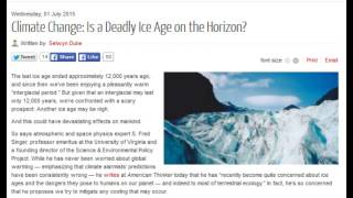 Climate Change: Is a Deadly Ice Age on the Horizon?