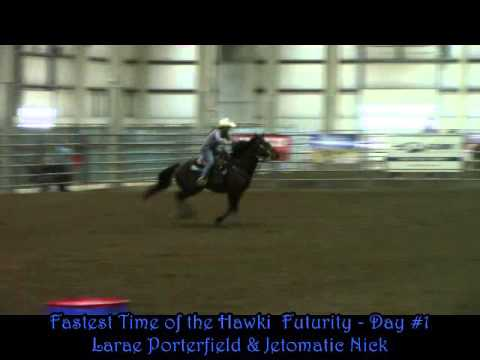 Fastest Time Of The Hawki Futurity Day 1   Lincoln NE   Oct 2015