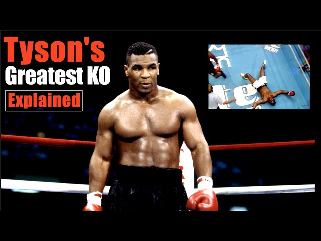 Mike Tyson's Greatest KO Explained -  Brilliant Exchanges