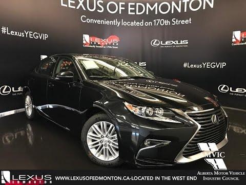 Lexus Es 350 2017 Black