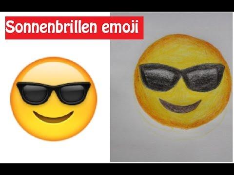 Smileys mit sonnenbrille