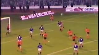 Skol cup final 1984 Rangers  v Dundee Utd.