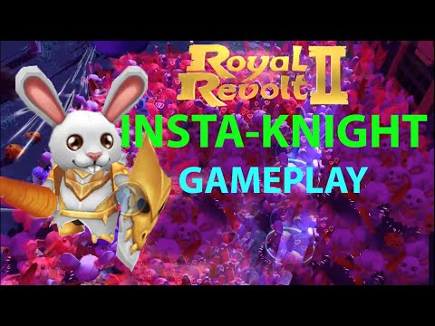 Royal Revolt 2 | Insta Knight | War Boost | Gameplay | RR2 GURUJI