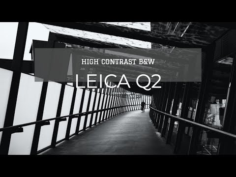High Contrast B&W Photography with Leica Q2 | Bristol Photo Vlog