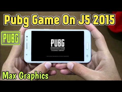 Samsung J5 2015 Pubg Mobile Test Max Graphics