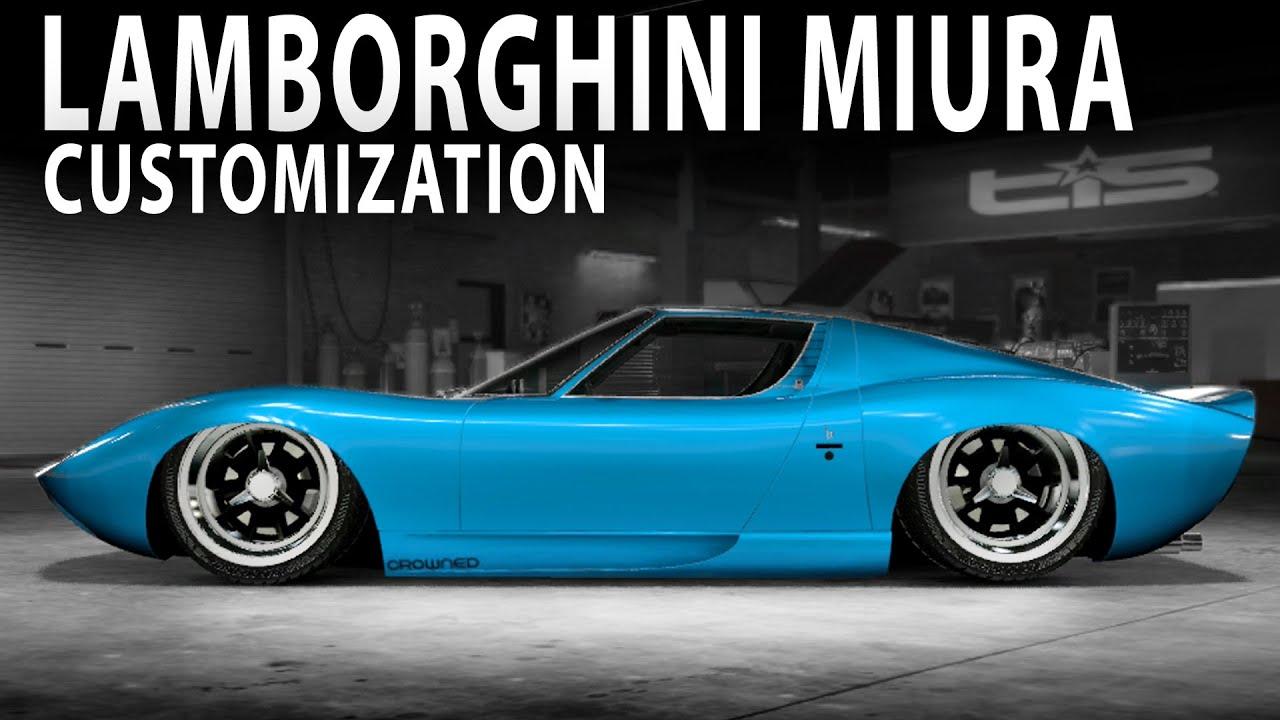 Midnight Club La Stanced Lamborghini Miura Sv Customization Youtube