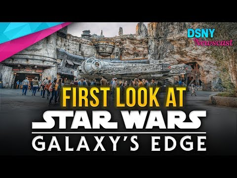 FIRST LOOK At Star Wars Galaxy's Edge At Disneyland - Disney News - 5/30/19