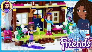 Snow Resort Chalet Lego Friends Build Review Silly Play Kids Toys