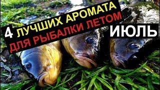 4 УЛОВИСТЫХ АРОМАТА ДЛЯ РЫБАЛКИ ЛЕТОМ РЫБАЛКА ИЮЛЬ Дип Аттрактант для рыбалки Насадка