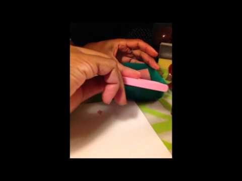 Easy Cleanup - Nail Stamping