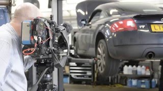IMI - Behind the scenes with ITN & Russell Automotive Centre