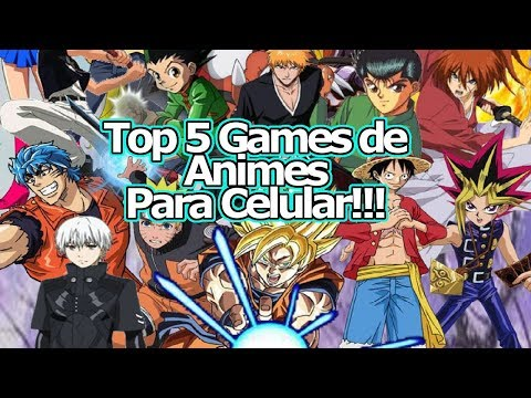 "Top 5 Games de Animes para Celular!!! ""Os mais TOP 3D de Ação do Momento"" - Omega Play"