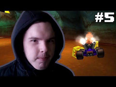 ПЛЯЖ Н. СЭНИТИ (реликвии) - Crash Team Racing #5