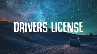 Olivia Rodrigo - Drivers License (Lyrics)