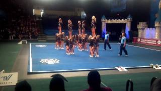 Florida State University Cheerleaders (All Girls Squad) 2011-2012