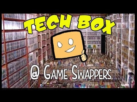 843a6a70fd0 Tech Box touring Game Swappers - YouTube