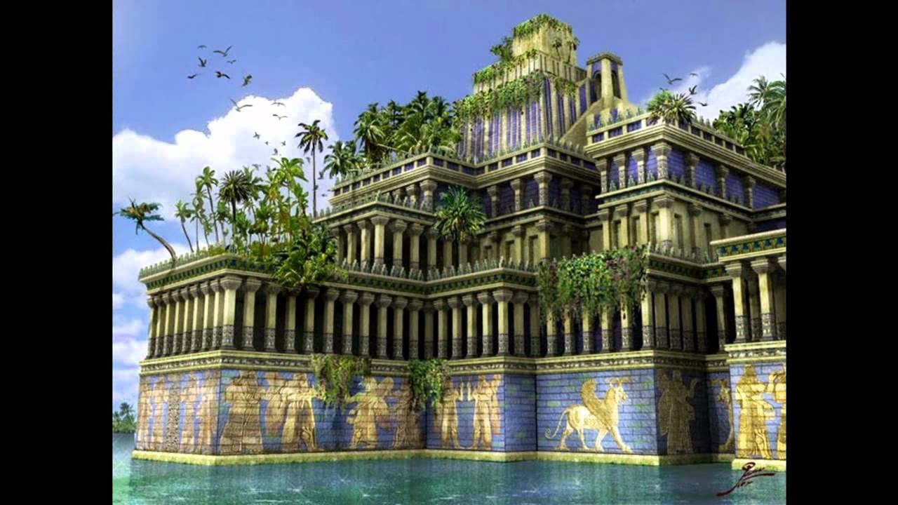 Exposicion sobre babilonia youtube for Los jardines colgantes de babilonia