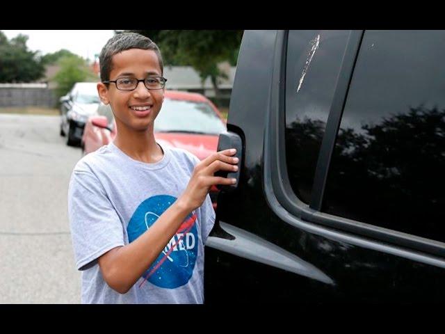 Ahmed Mohamed Clocks Out Of America