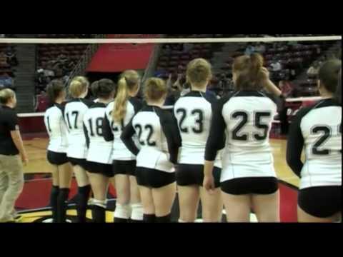 2008 IHSA Girls Volleyball Class 1A Championship Game: Lanark (Eastland) vs. Ashland (A-C Central)