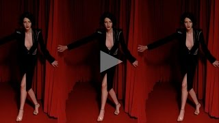 ceft and company: curtains never underdressed ad with model cris herrmann dir. karen collins Thumbnail