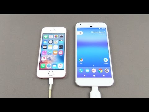 Transfer data from iPhone to Google Pixel