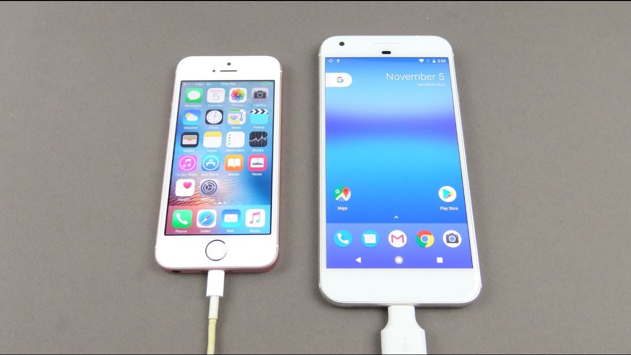 Transfer data from iPhone to Google Pixel - YouTube