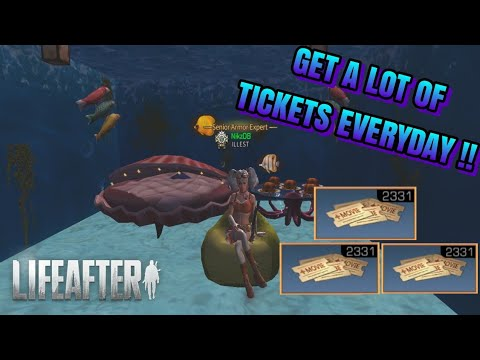 HOW TO GET TICKET STUBS ON LEVIN'S DAWN DISTRICT MAP !! LIFE AFTER NEW UPDATE