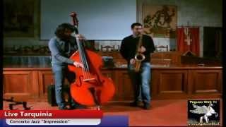 """Concerto Jazz  """"Impressions"""" del duo Giovanni Benvenuti e Francesco Pierotti"""