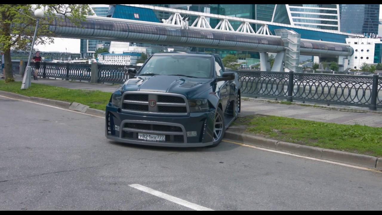 Dodge Ram 1500 Tuning >> Единственный в мире Dodge RAM с WideBody обвесом! - YouTube