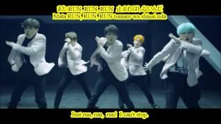 [ENG-ROM-KANJI] BTS - Run Japanese Version