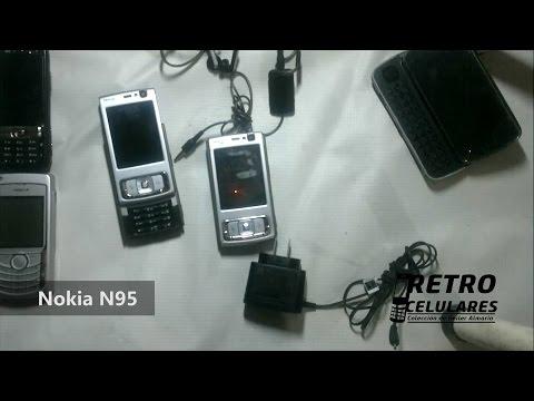 NOKIA N95 Colección Celulares clásicos, antiguos, viejos old cell phones RETRO CELULARES