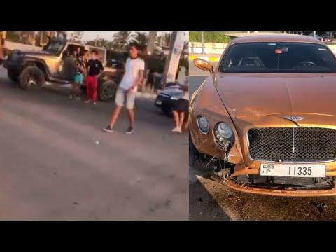 مشاجرة بين حمو بيكا وبعض الشباب في مارينا بسبب حادث سيارة