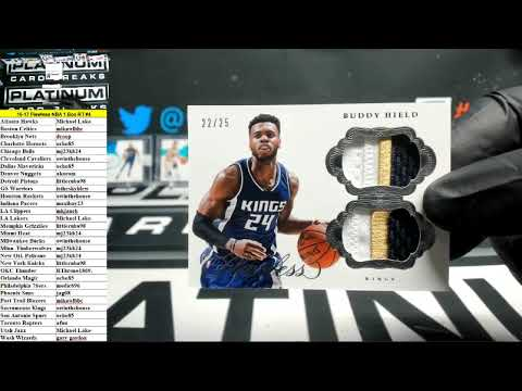 2016-17 Panini Flawless Basketball 1 Box Random Teams #4