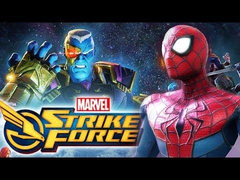 MARVEL Strike Force | Official Global Launch | Spiderman, Luke Cage!