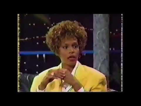 Whitney Houston on singing the National Anthem