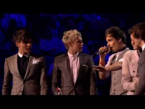 One Direction win Best British Single - Brit Awards 2012 HD