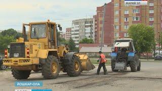 Масштабный ремонт дорог запланирован в Йошкар-Оле - Вести Марий Эл