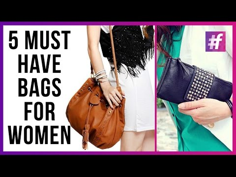 6f23f31e5d22 5 Must Have Bags That Every Women Should Possess - YouTube