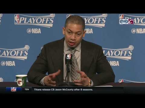Tyronn Lue postgame | Cavs vs. Pacers Game 2 | FOX SPORTS OHIO