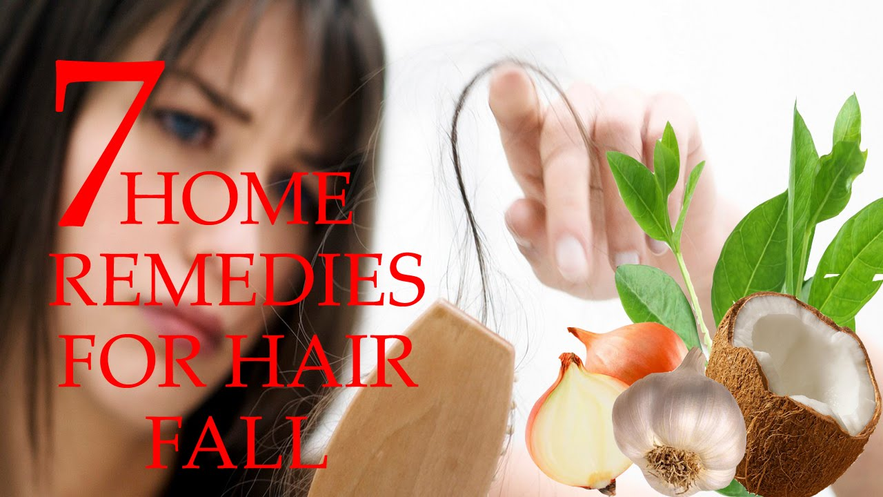 Home remedies for severe hair fall