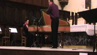 Johann Sebastian Bach: sonate pour flûte et clavecin en sol mineur BWV 1020