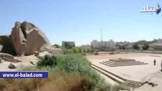 بالفيديو والصور..وزير الآثار ومحافظ أسوان يتفقدان معبد فيلة والمسلة الناقصة