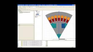 Видеоурок CADFEM VL1126 - Проектирование электродвигателя в ANSYS Maxwell 2D ч.1