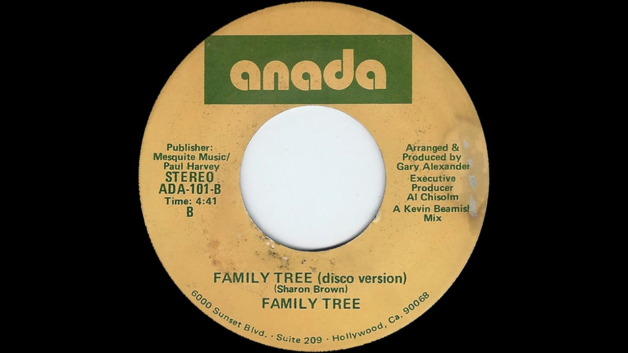 family tree featuring sharon brown family tree disco version